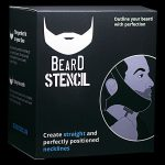 Beard Stencil Packaging | Beard Shaping Tool & Grooming Product