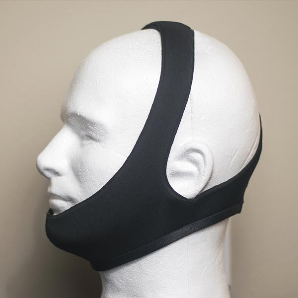 Beard Stencil on a Mannequin Head