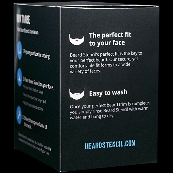 Beard Shaping Tool | Beard Stencil Description