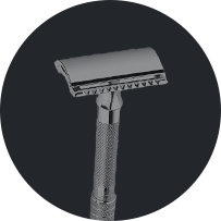 Safety Razor That Works with Beard Stencil Beard Shaping Tool